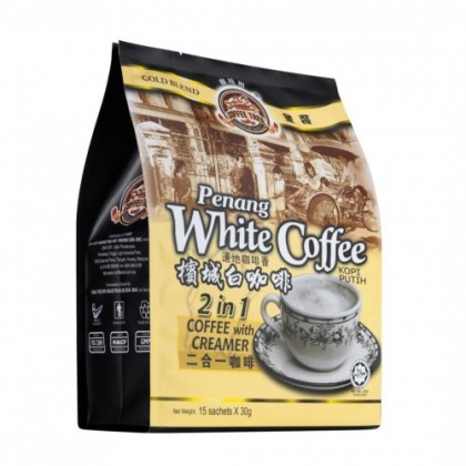 1-AP5-Coffee Tree 2 in 1 No Sugar Added Gold Blend Penang White Coffee