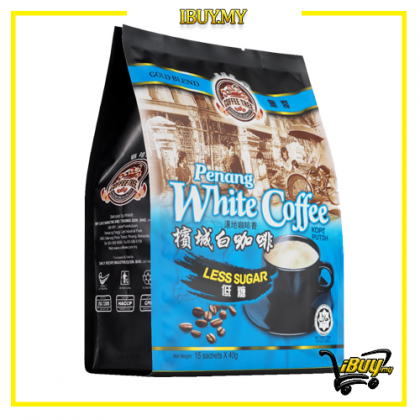 1-AP7-Coffee Tree Less Sugar Gold Blend Penang White Coffee